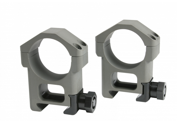 "30mm EBR Scope Ring NAVSPEC Grey   (1.25"")"