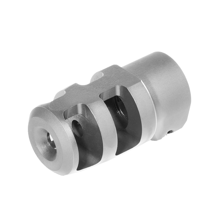 Mini Fte Muzzle Brake Clamp Style 22 Cal 5 8 24